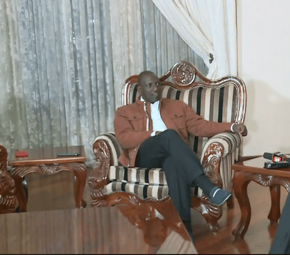 Screenshot from 2019 08 24 19 08 49 - Looks like a palace! Inside DP Ruto plush Karen home (Photos)