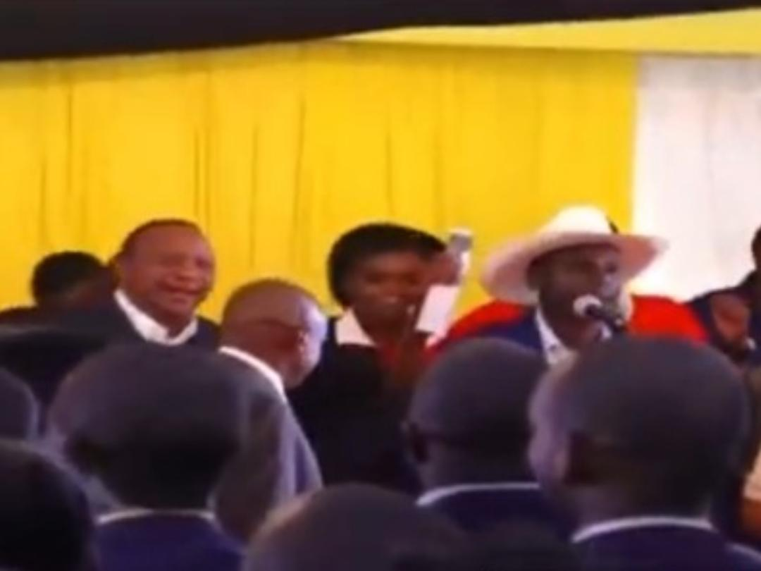 WhatsApp Image 2019 08 24 at 15.29.59 4 - President Uhuru and Sabina Chege excite mourners by dancing to John DeMathew's hits