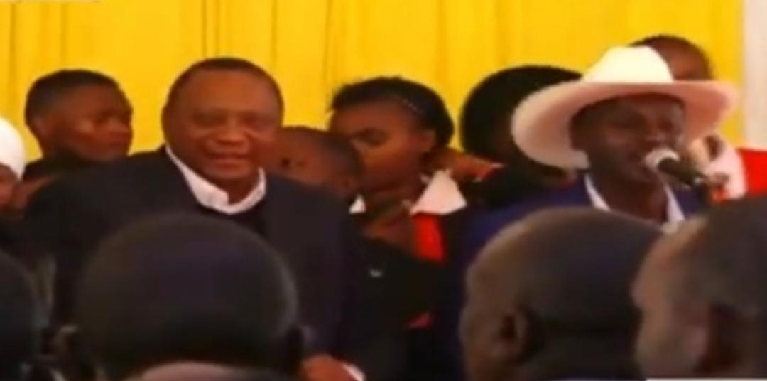 WhatsApp Image 2019 08 24 at 15.29.59 5 - President Uhuru and Sabina Chege excite mourners by dancing to John DeMathew's hits