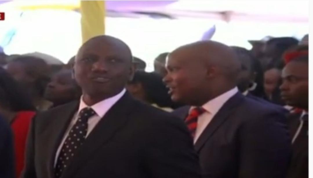 WhatsApp Image 2019 08 24 at 15.29.59 6 - President Uhuru and Sabina Chege excite mourners by dancing to John DeMathew's hits
