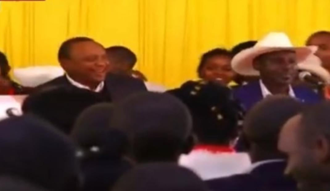 WhatsApp Image 2019 08 24 at 15.29.59 8 - President Uhuru and Sabina Chege excite mourners by dancing to John DeMathew's hits