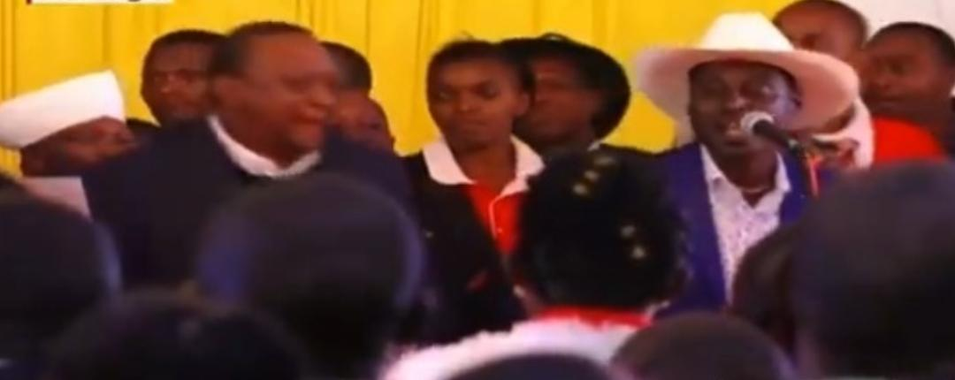 WhatsApp Image 2019 08 24 at 15.29.59 - President Uhuru and Sabina Chege excite mourners by dancing to John DeMathew's hits