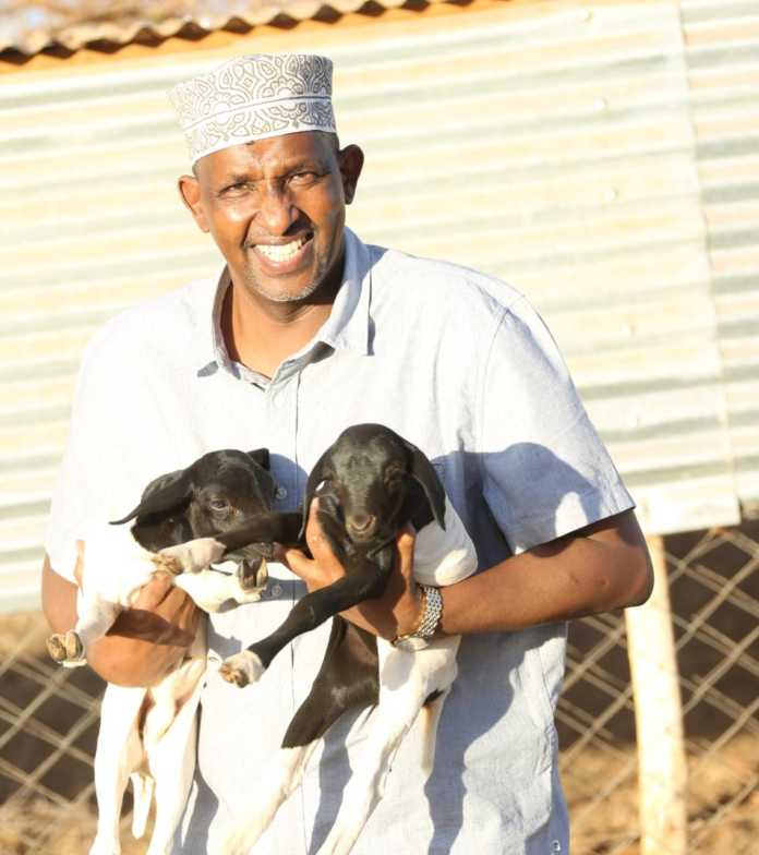 WhatsApp Image 2019 08 26 at 11.45.20 1 696x784 - Garissa MP Aden Duale shows his soft side (Photos)