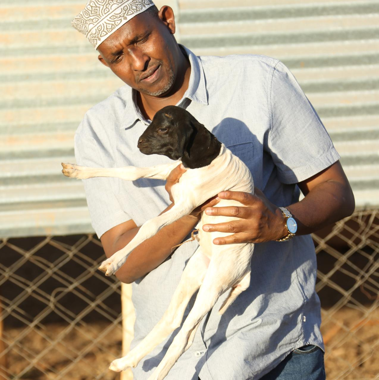 WhatsApp Image 2019 08 26 at 11.45.21 1 - Garissa MP Aden Duale shows his soft side (Photos)