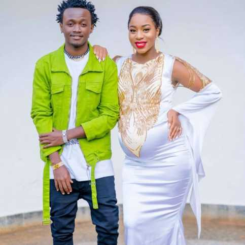 gospel couple 483x483 - From Adeen to Adam: Gospel names Bahati can give his unborn son