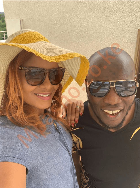 mpasho daddy Owen vacay1 1 - Still in love! Daddy Owen wows wife with birthday vacay in Nanyuki