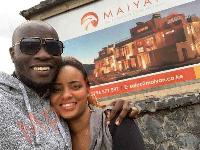 mpasho252520daddy252520Owen252520252520vacay6 - Still in love! Daddy Owen wows wife with birthday vacay in Nanyuki
