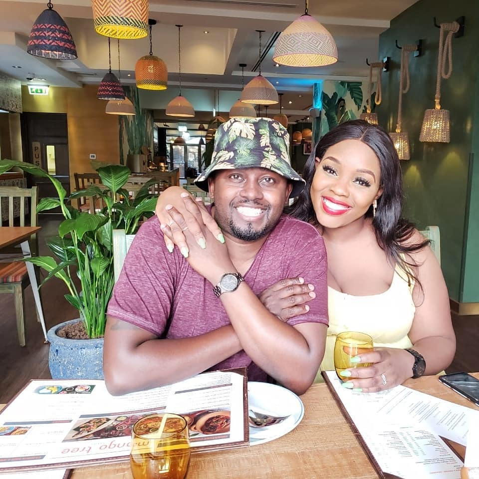 """njuge - """"I responded to his DM after 2 months,"""" Risper Faith on how she met hubby Brian"""