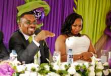 Pastor Ng'ang'a with his wife