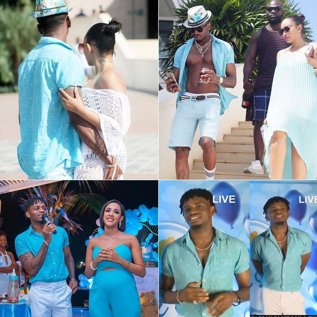 zari diamond - Alirogwa? Diamond Platnumz does same thing he did to Zari to Tanasha on her special day