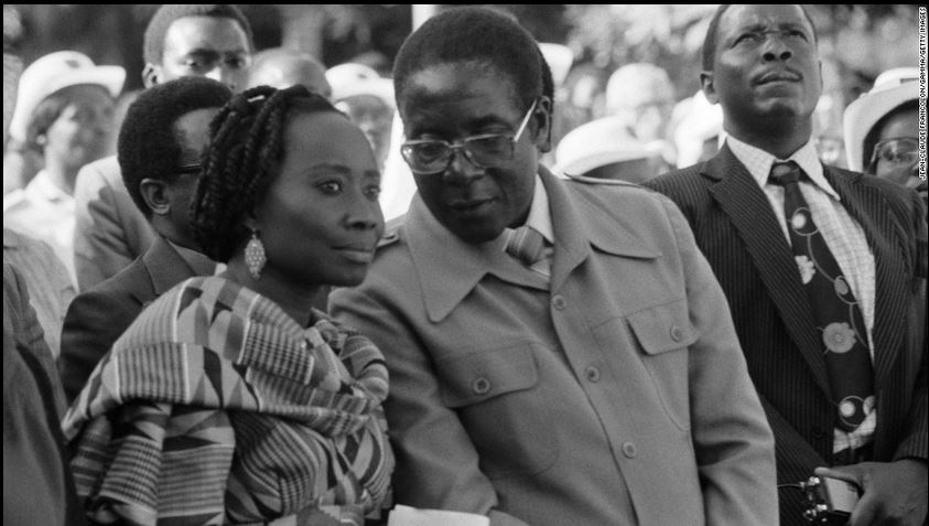 1 2 - Reunited in heaven! This is Mugabe's other wife you didn't know about