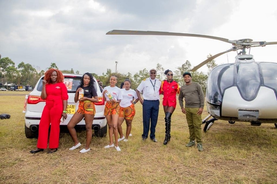 69401774 2626364430764494 7791008823119970304 n - Rais Akothee! Singer flies 3 minutes from Wilson to Carnivore (Photos)