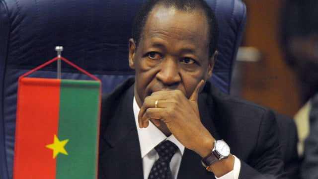 Blaise compaore 018 - Mugabe to Al Bashir! Here are Presidents who were forced out of power