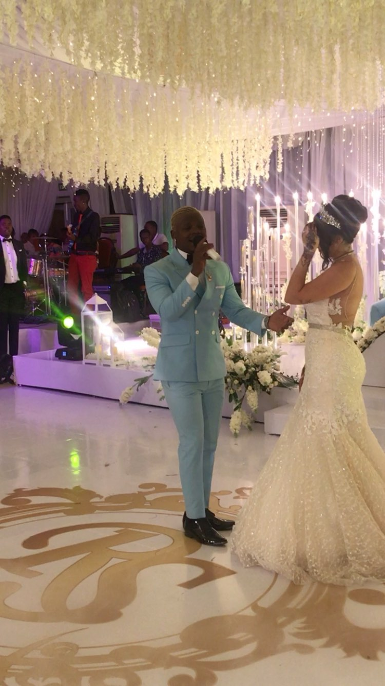 Harmonize wedding6 - 'It was a video shoot,' Harmonizes' manager clarifies on wedding photos