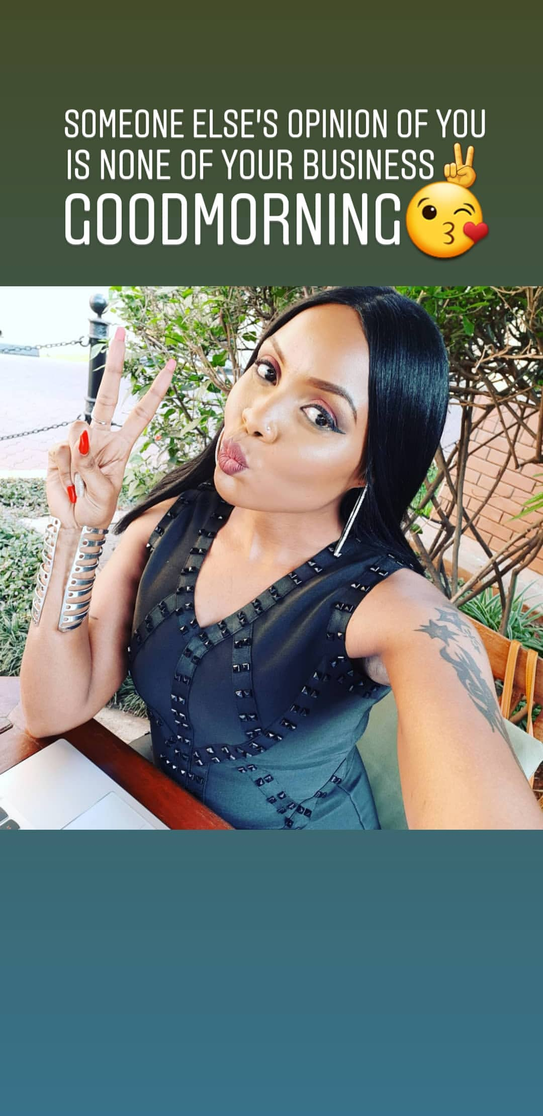 Kush Tracey44 - Kush Tracey responds after she was criticized for 'backsliding' and indecent dress code