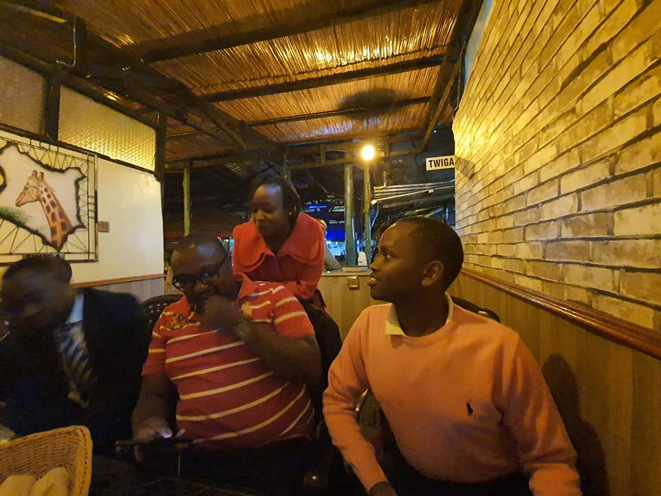 MARIBE HHH - This is what Dennis Itumbi and Maribe were up to last weekend (Photos)