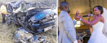 Mpasho Nyacharo accident nakuru 350x142 - 'I can't send beautiful roses,' message to wife by poet in Nakuru accident