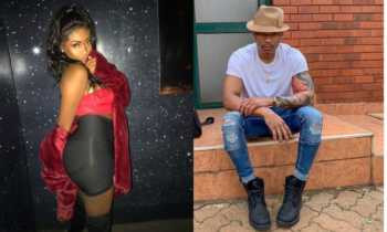 Otile vs Peggy 350x210 - Meet Peggy, the hot chic Otile Brown DMed while dating Nabayet (Photos)