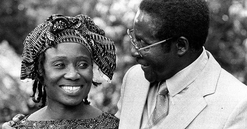Sally Mugabe - All about Robert Mugabe's first born son whose burial he didn't attend