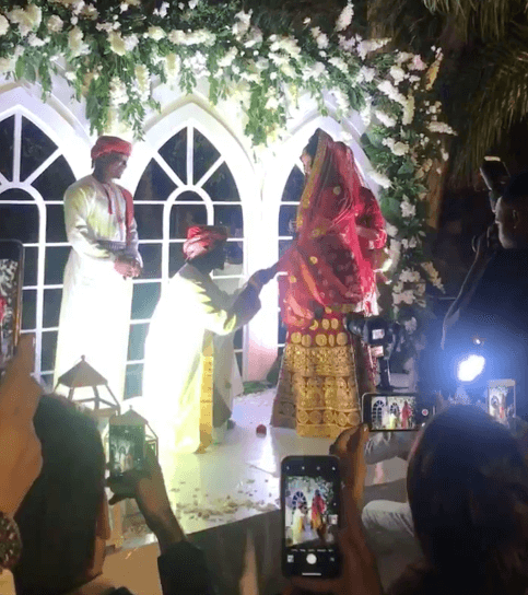 Screen Shot 2019 09 08 at 2.20.03 PM - Video and photos of Harmonize's wedding that Diamond wasn't invited to