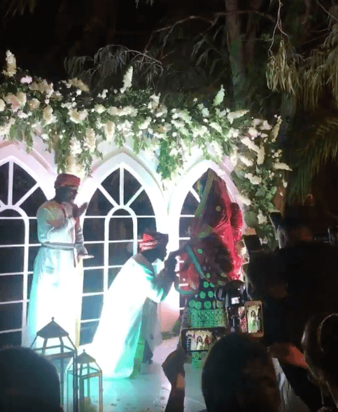 Screen Shot 2019 09 08 at 2.20.07 PM - Video and photos of Harmonize's wedding that Diamond wasn't invited to