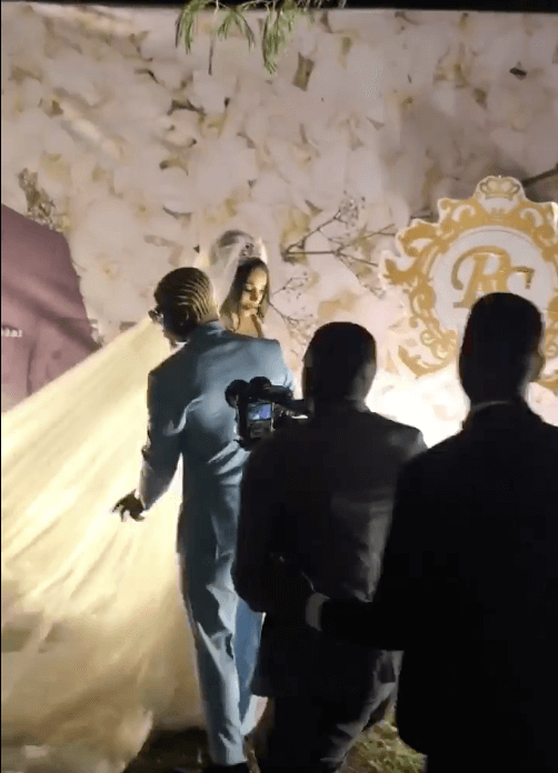 Screen Shot 2019 09 08 at 2.22.16 PM - Video and photos of Harmonize's wedding that Diamond wasn't invited to