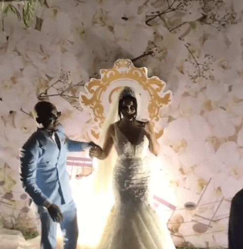 Screen Shot 2019 09 08 at 2.22.49 PM - Video and photos of Harmonize's wedding that Diamond wasn't invited to