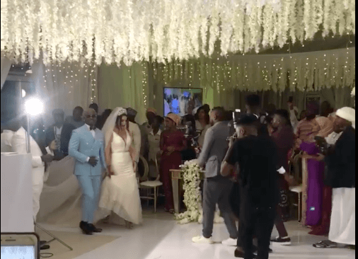 Screen Shot 2019 09 08 at 2.23.12 PM - Video and photos of Harmonize's wedding that Diamond wasn't invited to