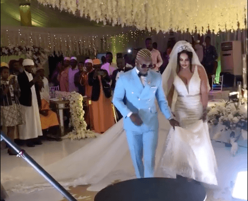 Screen Shot 2019 09 08 at 2.24.08 PM - Video and photos of Harmonize's wedding that Diamond wasn't invited to