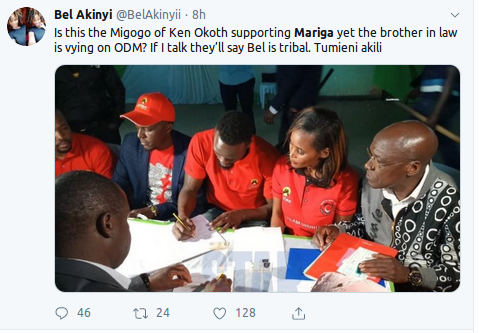 Screenshot from 2019 09 11 063533 - Loyalty for who? Ken Okoth's baby mama Anne Thumbi supports Mariga