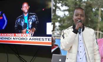Victor Kinuthia Inooro TV 350x210 - 'I'll never forget that night,' Victor Kinuthia on being trolled for bad English narrates