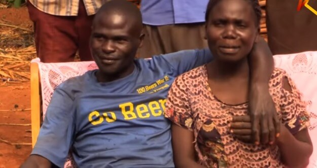 Weta and Christopher 2 - Shock as two Busia men officially exchange wives in 'barter trade'