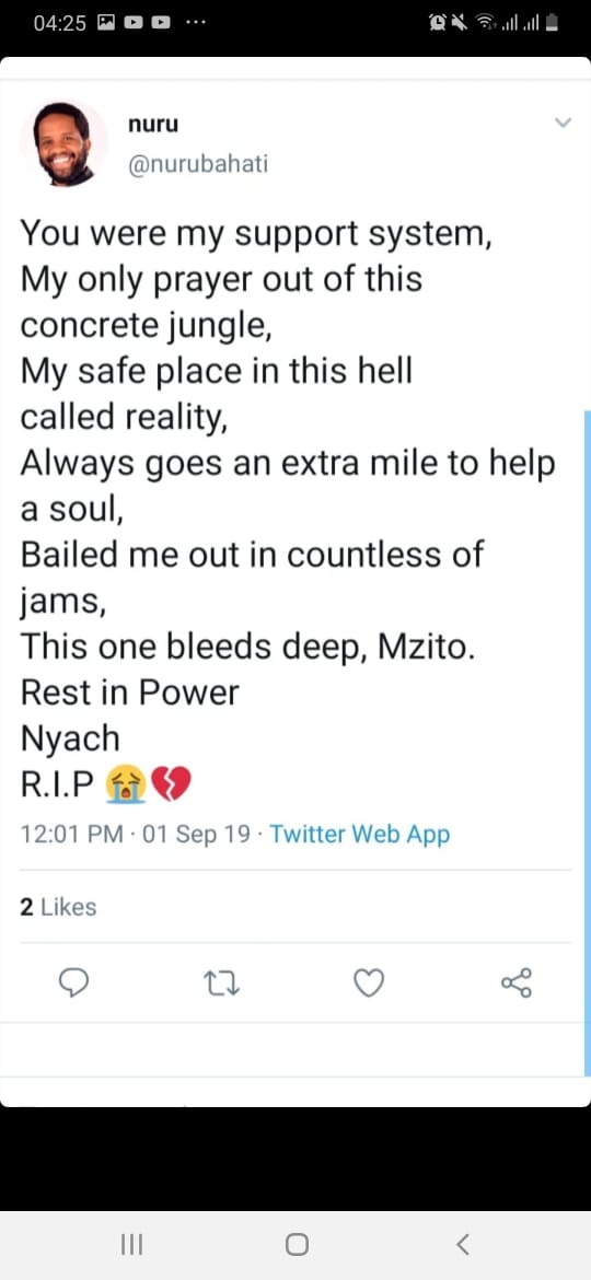 WhatsApp Image 2019 09 02 at 06.53.52 1 - 'I can't send beautiful roses,' message to wife by poet in Nakuru accident