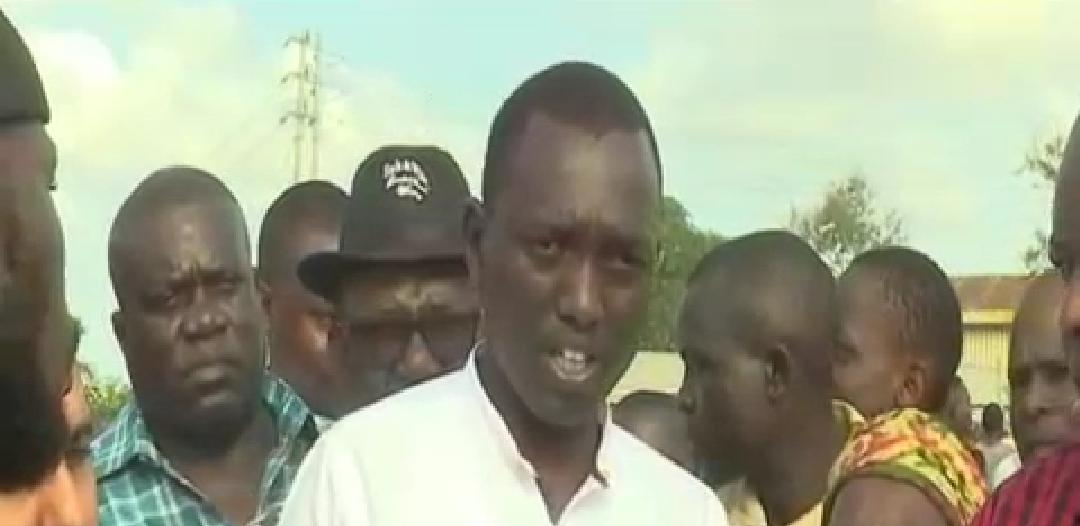 WhatsApp Image 2019 09 02 at 14.38.40 1 - Just like daddy! DP Ruto's son filmed at a youth sports event in Mombasa