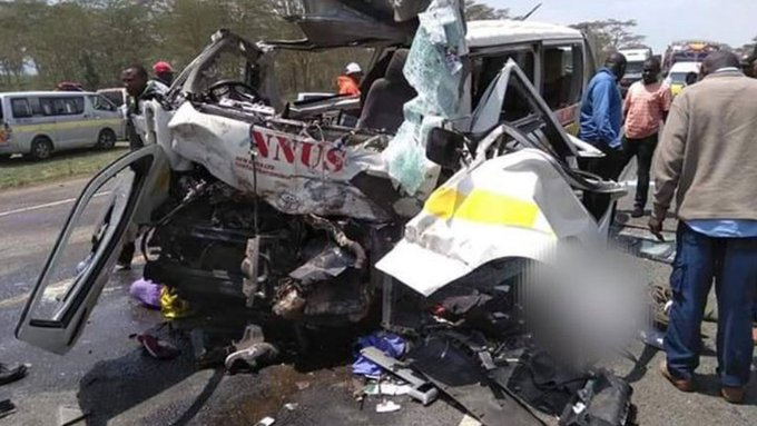 XJJS6K y - 'They never said goodbye!' Three killed in grisly Naivasha accident