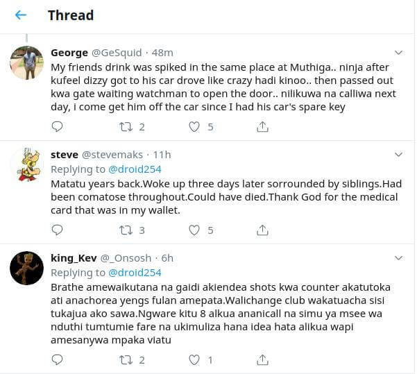 drugged 3 1 - 'He was in ICU for a week,' Kenyans narrate being drugged in clubs