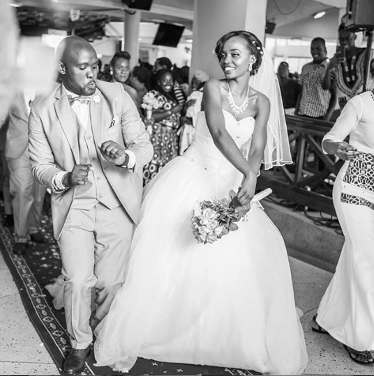 nyacharo wife wedding - 'I can't send beautiful roses,' message to wife by poet in Nakuru accident
