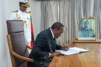 unnamed 12 350x234 - Read President Uhuru's emotional message to Mugabe