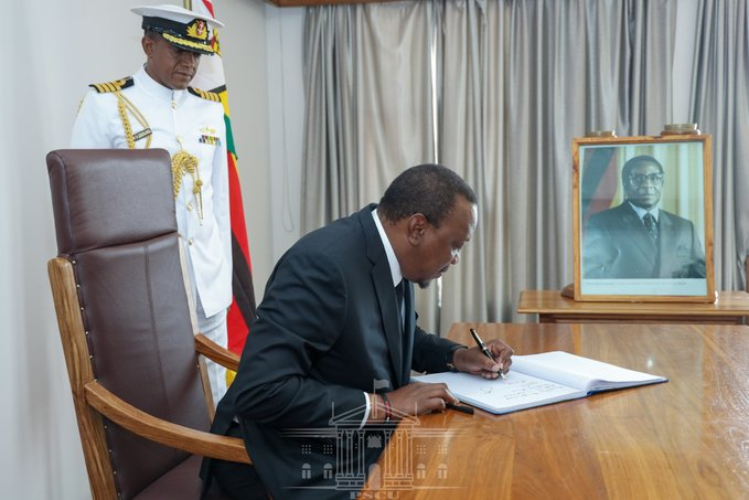 unnamed 12 - Read President Uhuru's emotional message to Mugabe