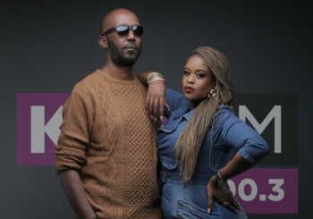 unnamed1 350x245 - They are coming in hot! Photos of Kibe and Kamene as they start at Kiss FM
