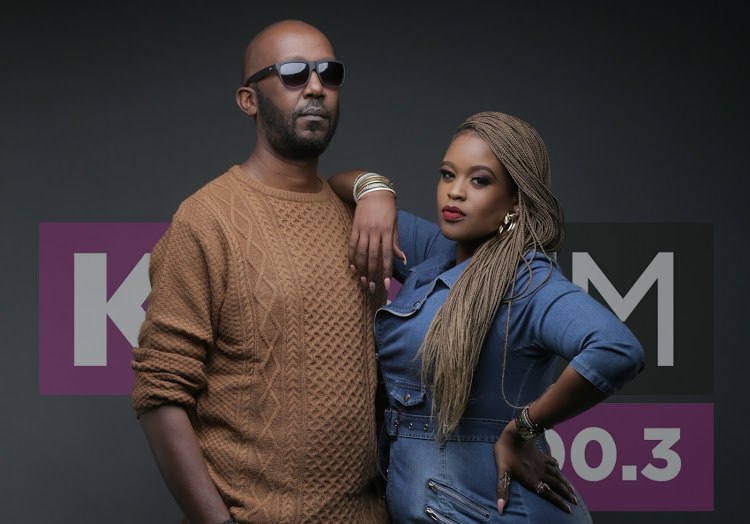 unnamed1 - They are coming in hot! Photos of Kibe and Kamene as they start at Kiss FM