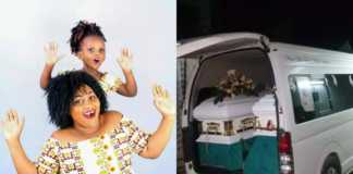 Bodies of Mariam Kighenda and daughter