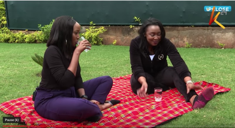 Janet Mbugua and Betty Kyallo