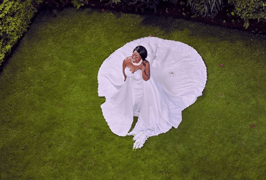 Beside Janet Mbugua, here are stunning gowns worn by Kenyan celeb on their wedding