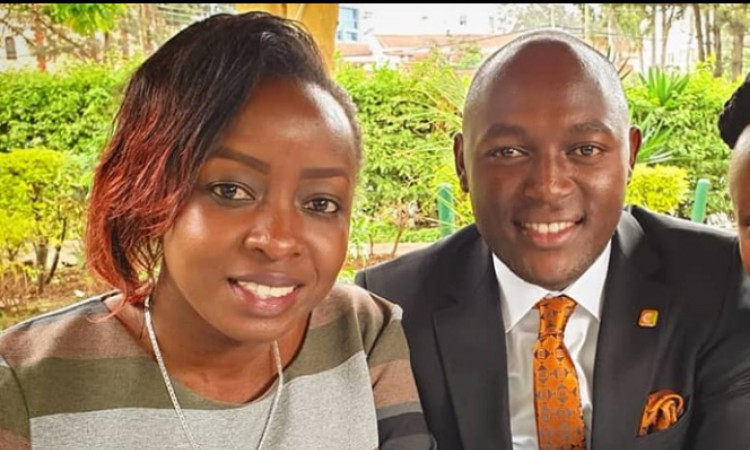 Parte after parte! Jacque Maribe resurfaces at city club with Citizen TV reporter Stephen Letoo