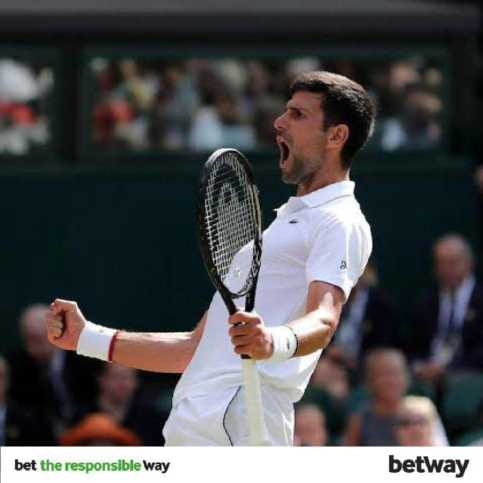 Novak Djokovic - bet the responsible way on Betway