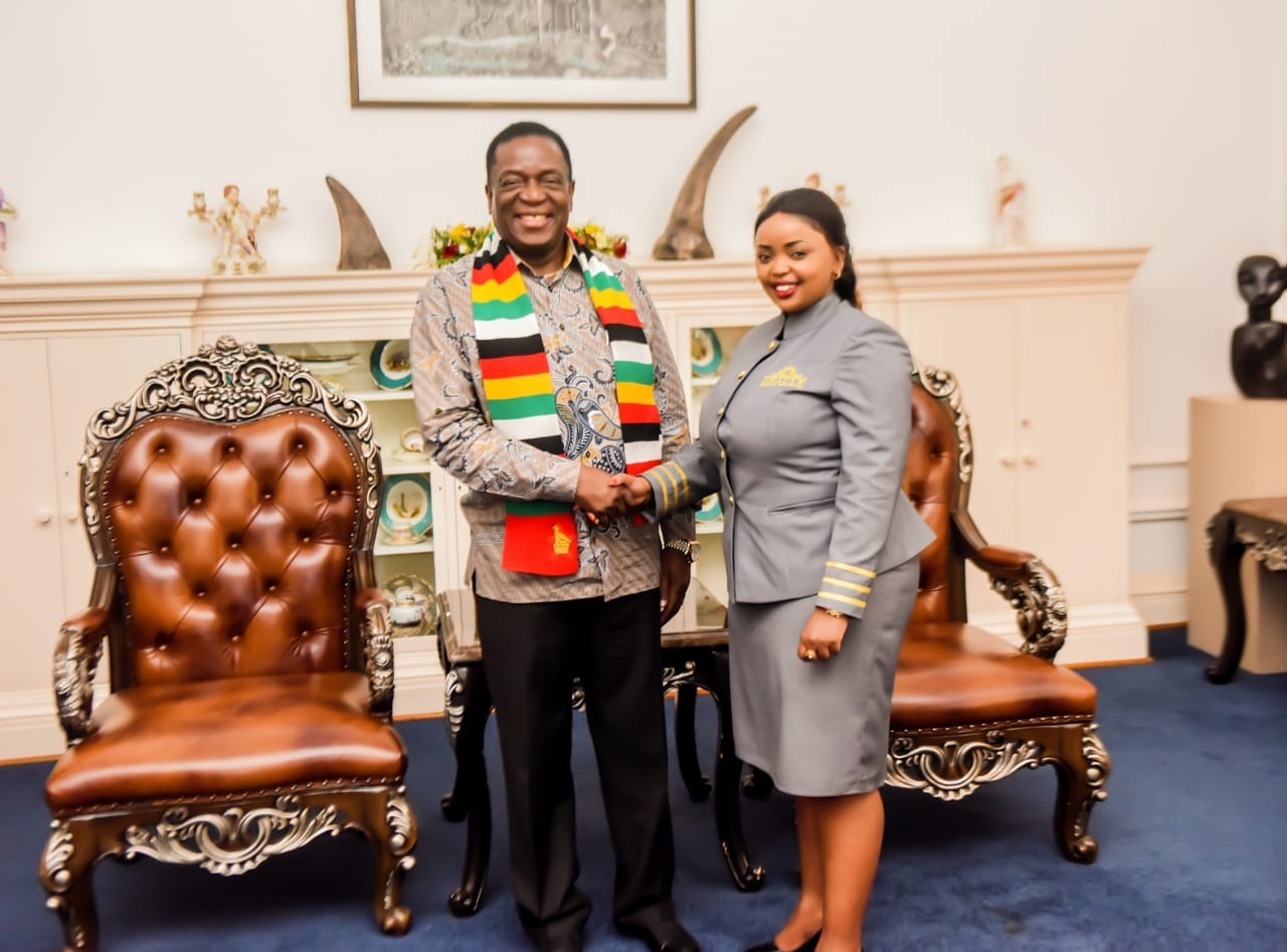 Check out how Rev. Lucy Natasha was treated by the Zimbabwean president