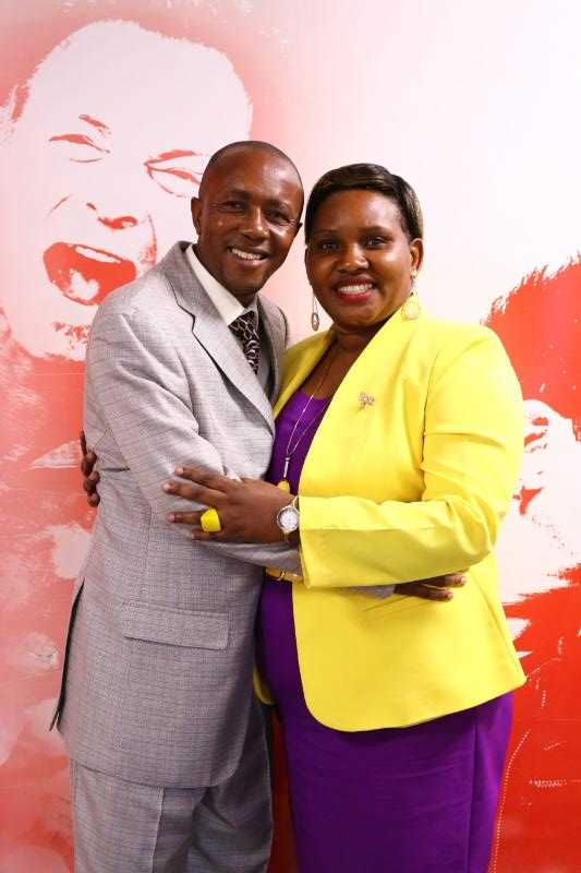 Pastor Susan and her husband