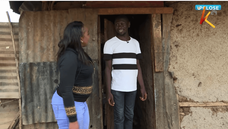 Betty Kyallo with Stivo in Kibra