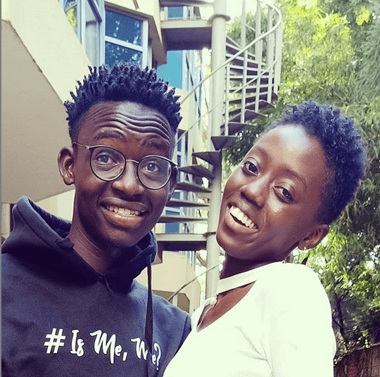 MCA Tricky with Akothee's daughter